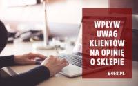 opinie klientów o sklepie internetowym